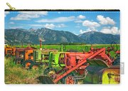 Farm  Art Tractors Carry-all Pouch