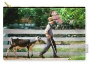 Farm - Cow -the Farmer And The Dell  Carry-all Pouch