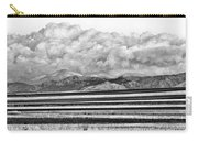 Farm Fields Meet The Rocky Mountains Carry-all Pouch