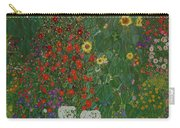 Farm Garden With Flowers Carry-all Pouch