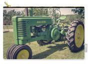 Farm Green Tractor Vintage Style Carry-all Pouch