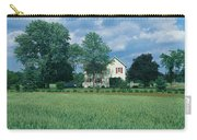 Farm House And Spring Field, Maryland Carry-all Pouch