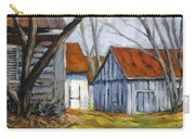 Farm In Berthierville Carry-all Pouch