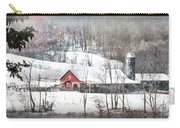 Farm In Winter Carry-all Pouch