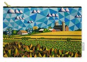 Farm On Hwy 28 Framed  Carry-all Pouch