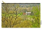 Farm Seen From Culp Hill Lookout In Gettysburg National Military Park-pennsylvania Carry-all Pouch