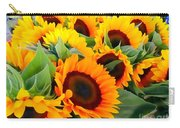 Farm Stand Sunflowers #8 Carry-all Pouch