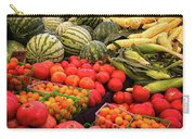 Farm To Market Produce - Melons, Corn, Tomatoes Carry-all Pouch