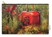 Farm - Tractor - A Pony Grazing Carry-all Pouch by Mike Savad