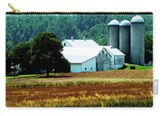 Farm With White Silos Carry-all Pouch