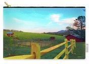 Farm Yard Fence Carry-all Pouch