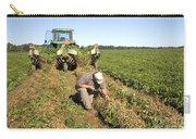 Farmer Inspects Peanut Field Carry-all Pouch