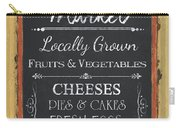Farmer's Market Signs Carry-all Pouch