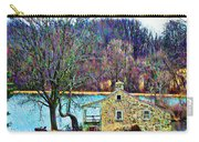 Farmhouse By The Lake Carry-all Pouch