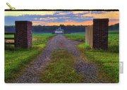 Farmhouse Sunrise - Arkansas - Landscape Carry-all Pouch