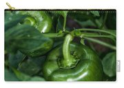 Farming Green Peppers Carry-all Pouch