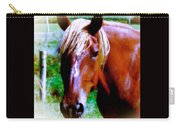 Horse Portrait Carry-all Pouch