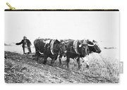 Farming: Ploughing, C1930 Carry-all Pouch