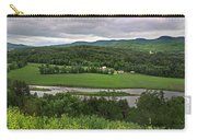 Farmland View Over The Connecticut River  Carry-all Pouch