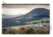 Farms Under The Morning Fog Carry-all Pouch