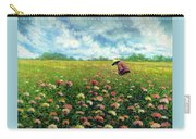 Farmstand Flower Lady Carry-all Pouch