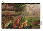 Farmyard Chickens Carry-all Pouch