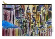 Fascinating Palermo Sicily Italy Street Scene Carry-all Pouch