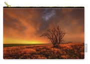 Fascinations - Warm Light And Rumbles Of Thunder In The Oklahoma Panhandle Carry-all Pouch