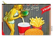 Fast Food Of The Day Carry-all Pouch
