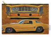 Fast Yellow Carry-all Pouch
