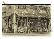 Fat Hen Grocery Sepia Carry-all Pouch