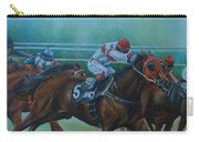 Favorite, Horse Race Art Carry-all Pouch