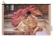 Favourite Poet Lawrence Alma-tadema Carry-all Pouch