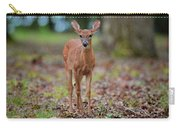 Fawn In Woods At Shiloh National Military Park Carry-all Pouch