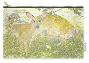 Fawn Twins Digital Painting Carry-all Pouch