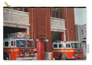 Fdny Engine 88 And Ladder 38 Carry-all Pouch by Paul Walsh