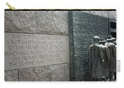 Fdr Memorial - Shared Sacrifice Carry-all Pouch