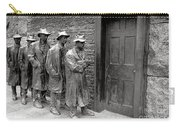 Fdr Memorial Breadline Carry-all Pouch