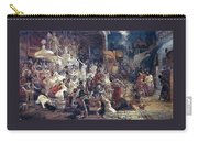 Feast Of Belshazzar 1874 Vasily Ivanovich Surikov Carry-all Pouch