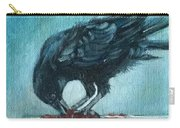 Feasting Raven Carry-all Pouch