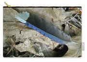 Feather On The Forest Floor Carry-all Pouch