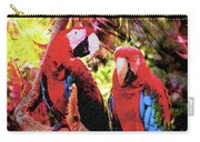 Feathered Duet Carry-all Pouch