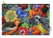 Feathered Foliage Carry-all Pouch