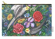 Feathered Frolic Carry-all Pouch