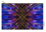 Feathered Stained Glass Carry-all Pouch