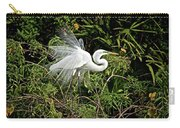 Beautiful Feathers And Foliage Carry-all Pouch
