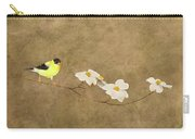 Feathers And Petals I Carry-all Pouch