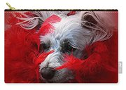 Feathers Of Red Carry-all Pouch