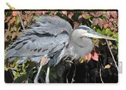Feathers Ruffled Carry-all Pouch