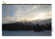 February Dawn Clouds Carry-all Pouch